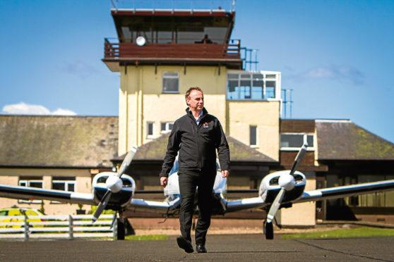 ACS Aviation managing director Graeme Frater.
