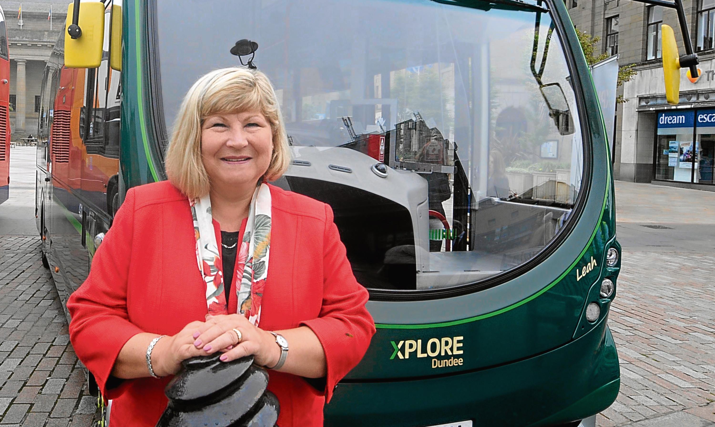 Xplore Dundee's managing director Elsie Turbyne