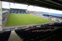 Stark's Park, home of Raith Rovers F.C