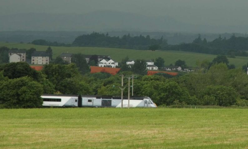 Near the proposed business park at Auchterarder