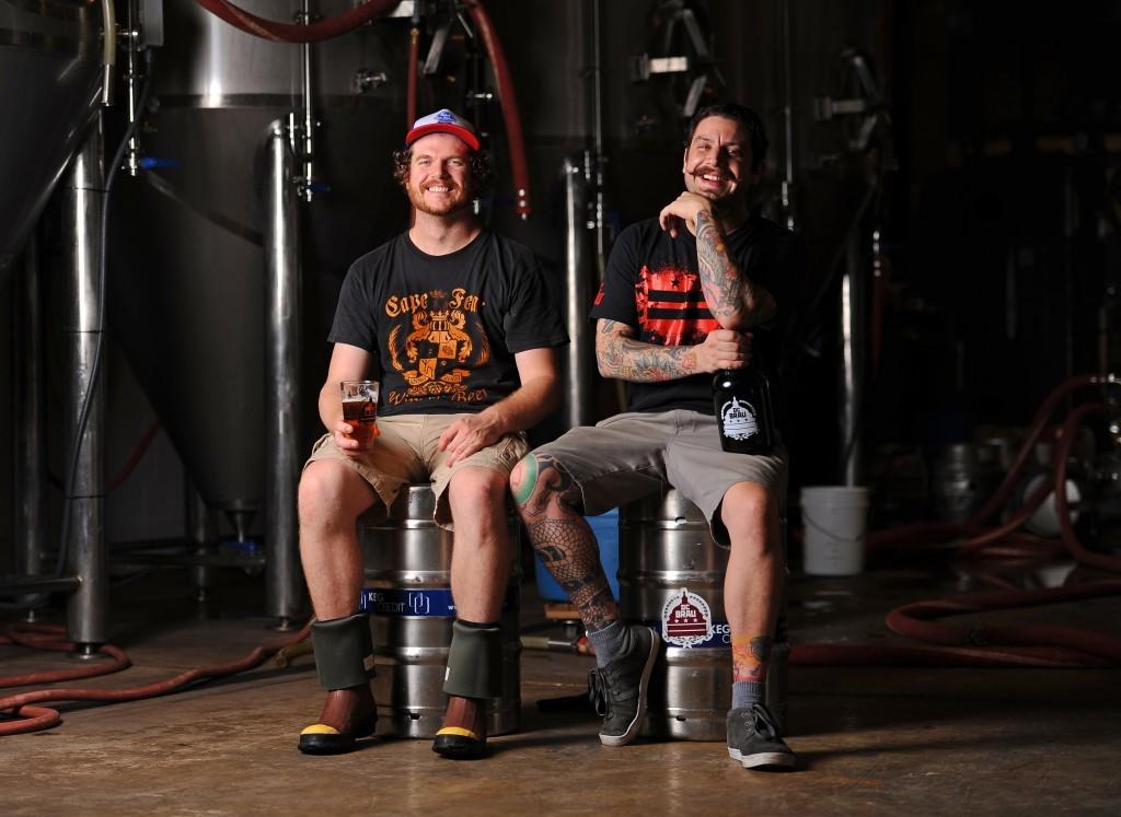 Jeff Hancock and Brandon Skall from DC Brau.