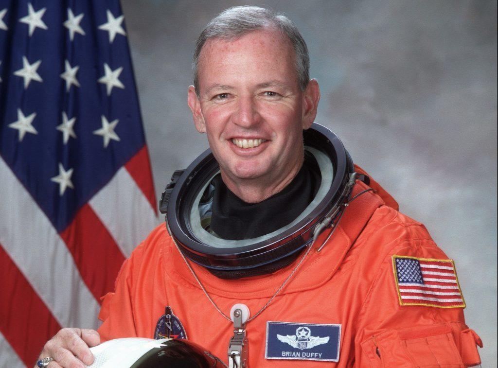 Former NASA astronaut Brian Duffy