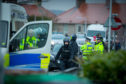 The police incident in Burntisland.