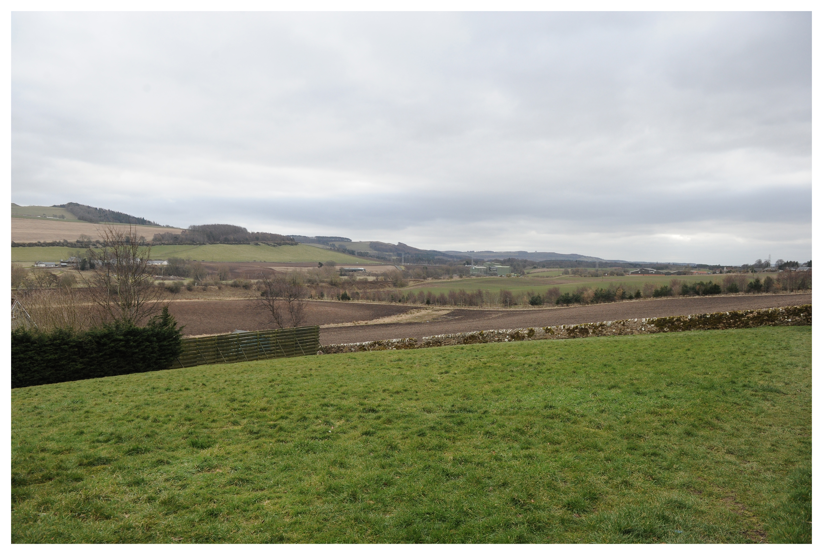 Land at Ferryfield, Cupar, south-east of Brighton Road, which has been earmarked for new housing development.