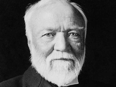 Dunfermline-born philanthropist Andrew Carnegie is an inspiration for Sir Tom Hunter
