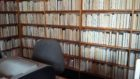 Books reversed at Comrie Library