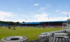 Cowdenbeath's Central Park home ground.