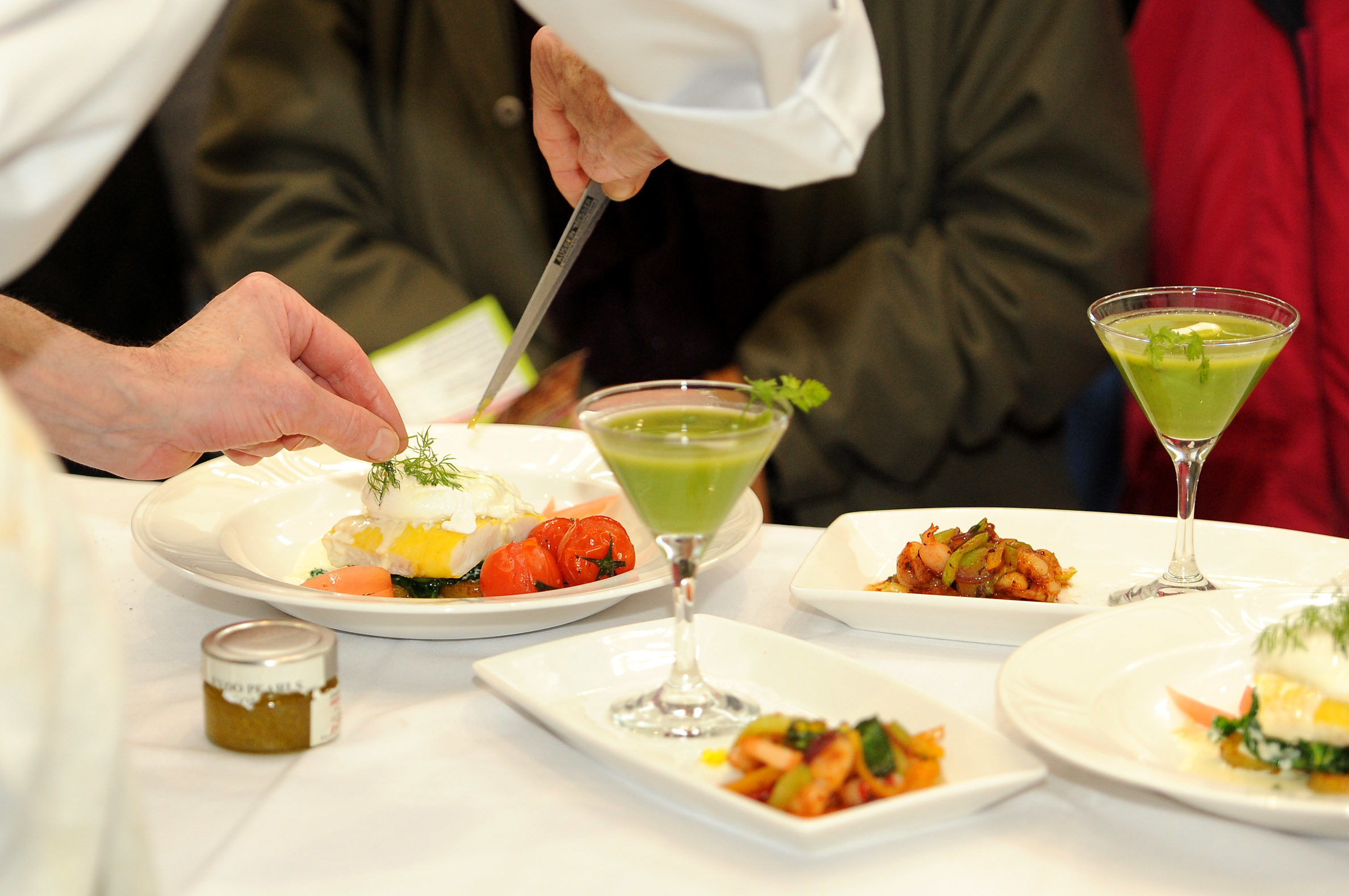 Foodies are expected to converge on Kirkcaldy
