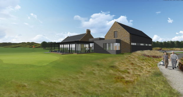 An artist's impression of how the clubhouse might look.