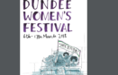 The festival programme cover, designed and illustrated by Laura Darling