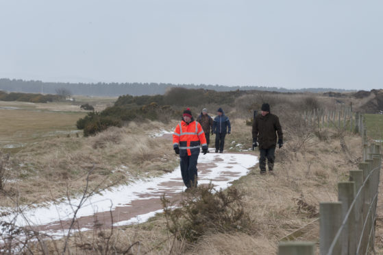 Searchers have been scouring a huge area in the search for Duncan.