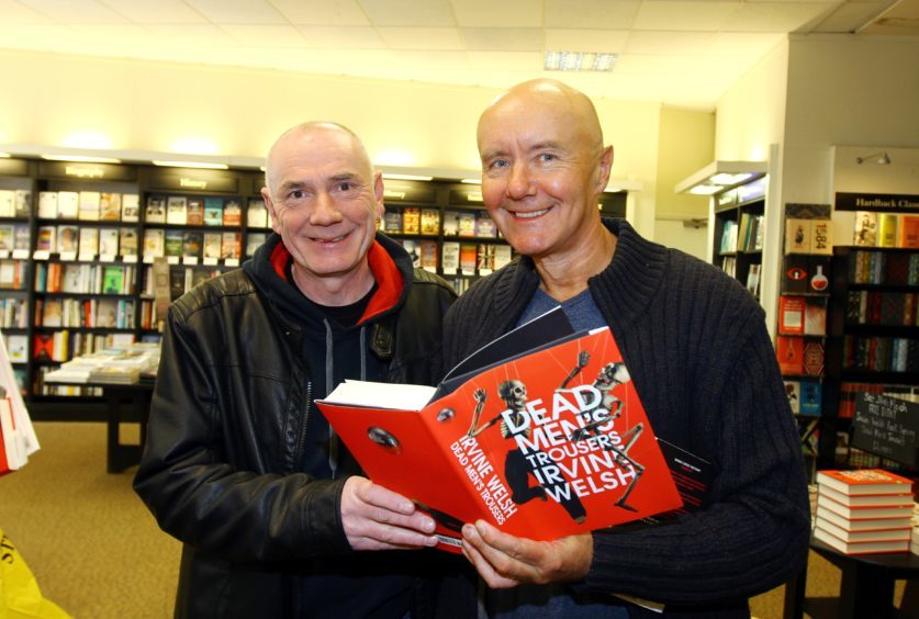 Irvine with Colin Williams from Menzieshill