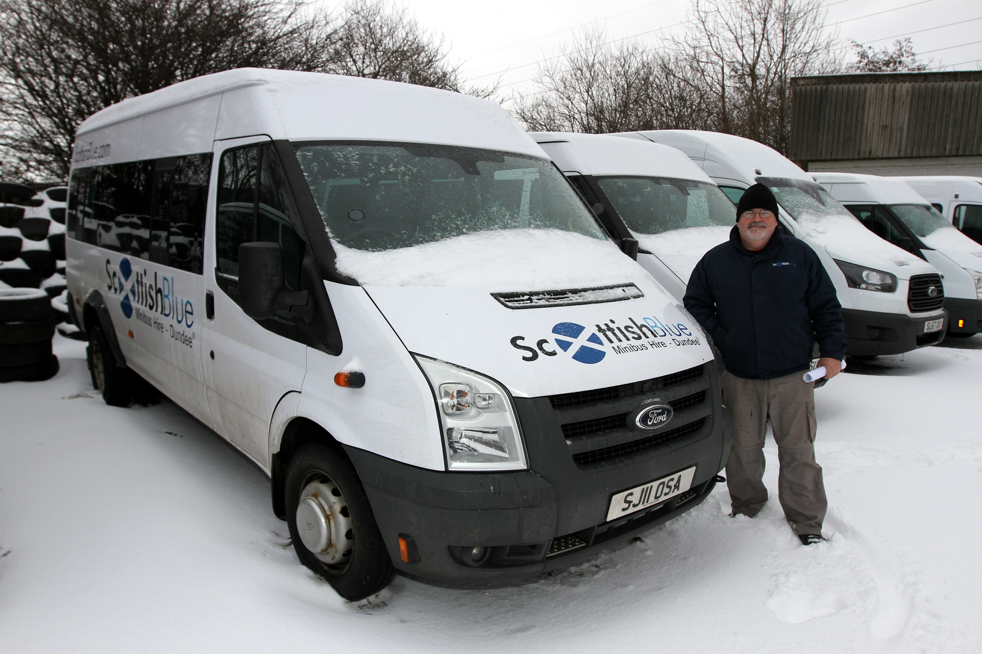George Scullion of Scottish Blue Minibus hire which is taking over the Taxicard scheme which offers a discount to disabled people.