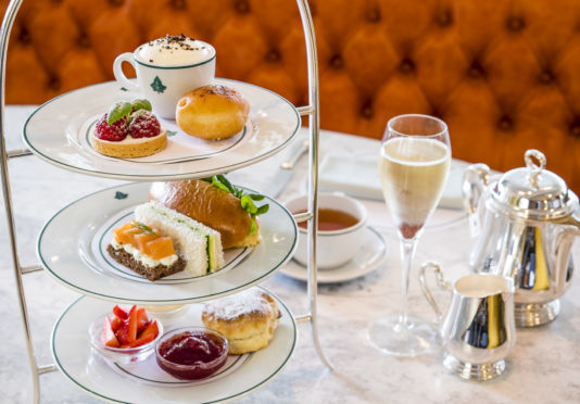Afternoon tea at The Ivy