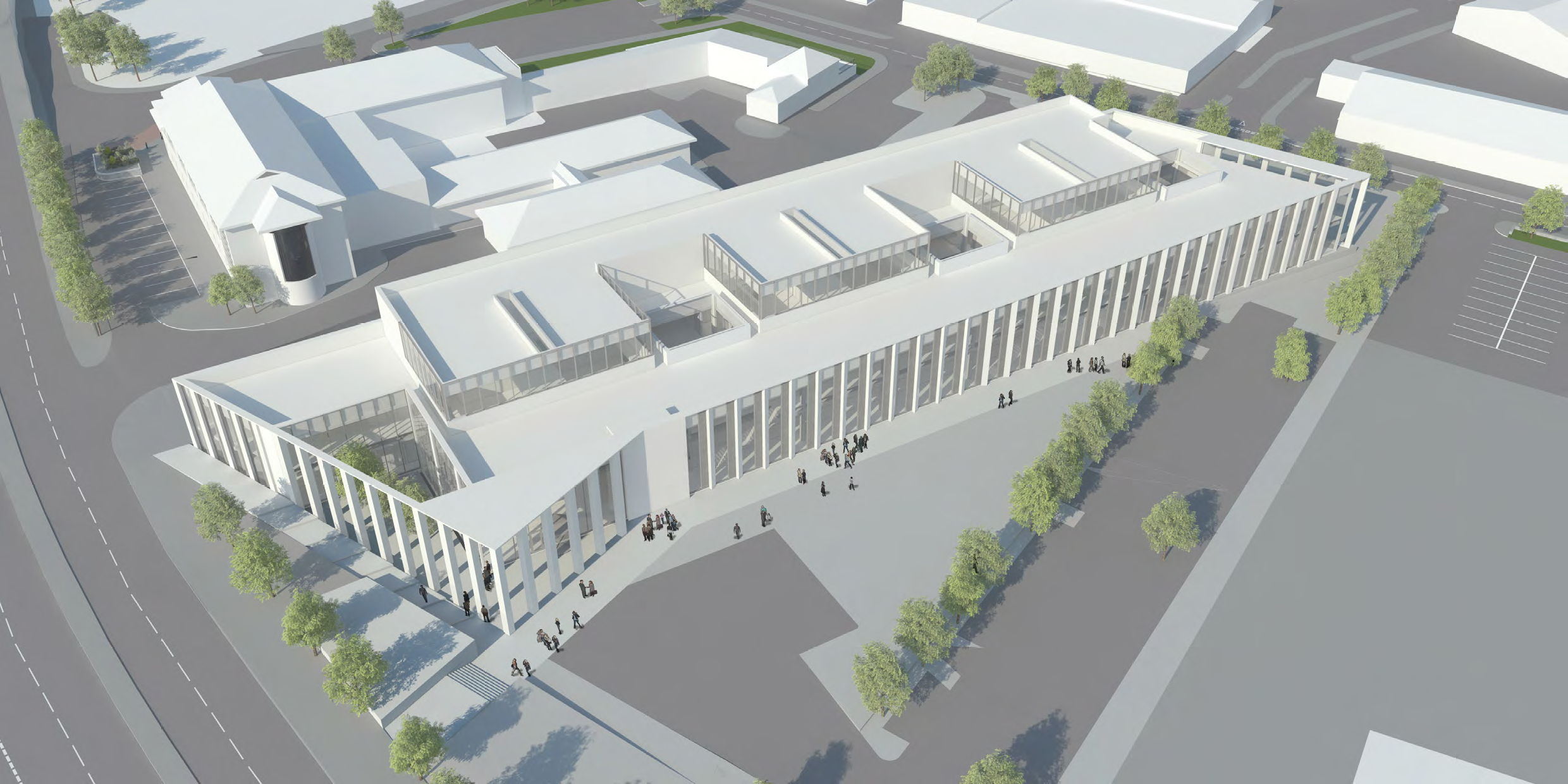 How the finished centre in Inverness will look.