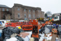 The latest stage of work on the former Chapelpark Primary School.