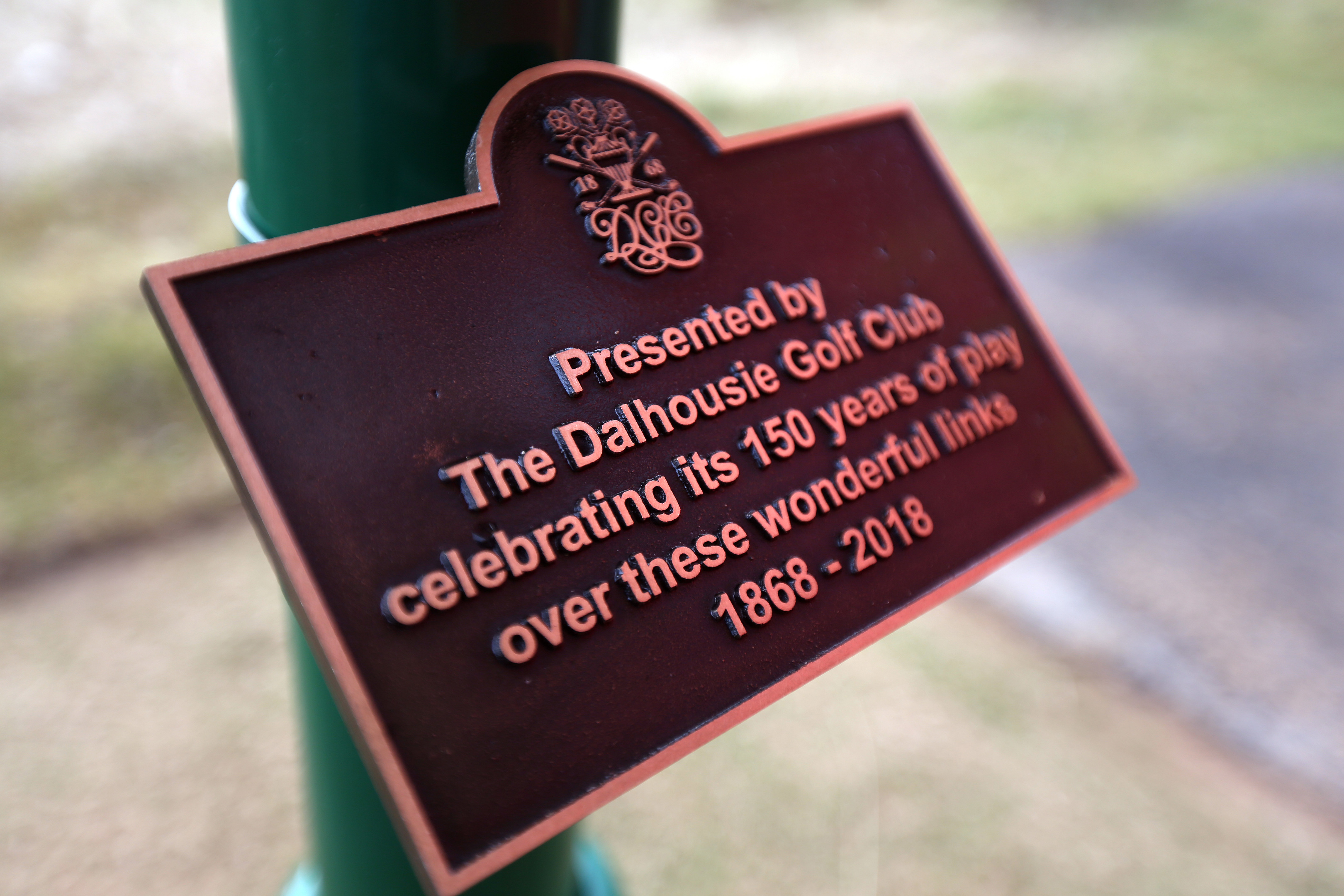 A plaque and water feature was placed on the 16th hole of the Championship course to mark the 150th anniversary of the club in March.