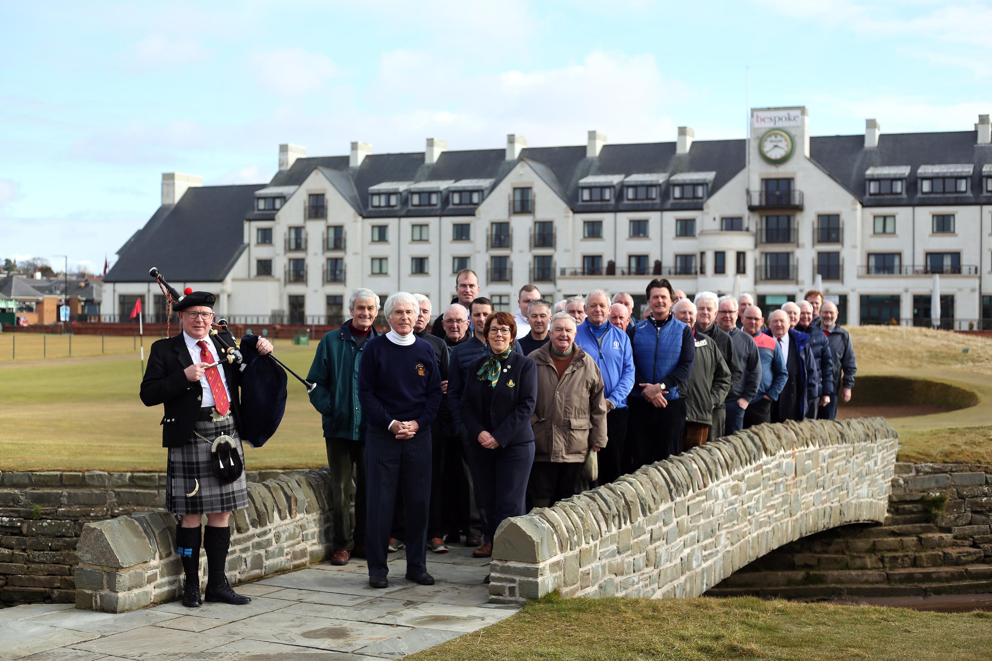 Members of Dalhousie Golf Club.