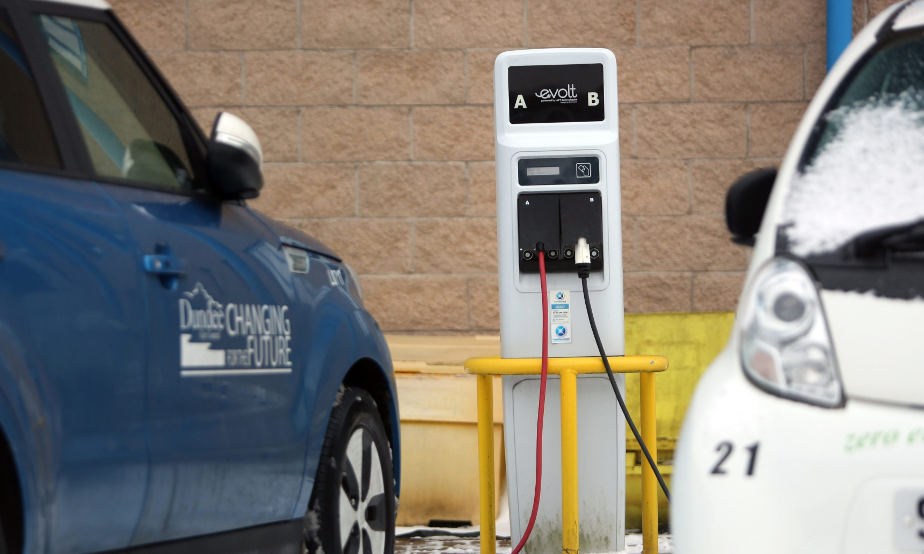 Dundee has been recognised as a leader in the move towards electric vehicles.