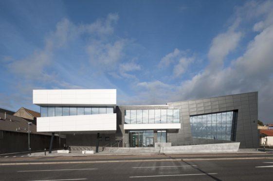 Kirkcaldy Leisure Centre.