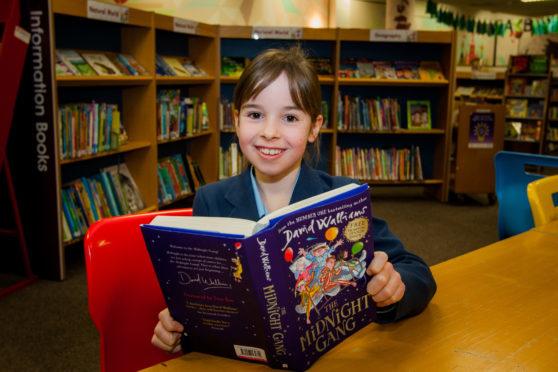Hannah Alexander, 8, from St Leonards School, St Andrews.
