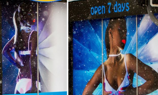 "The ""sexualised"" shop front images in Perth"