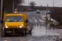 Flooding in East Wemyss.