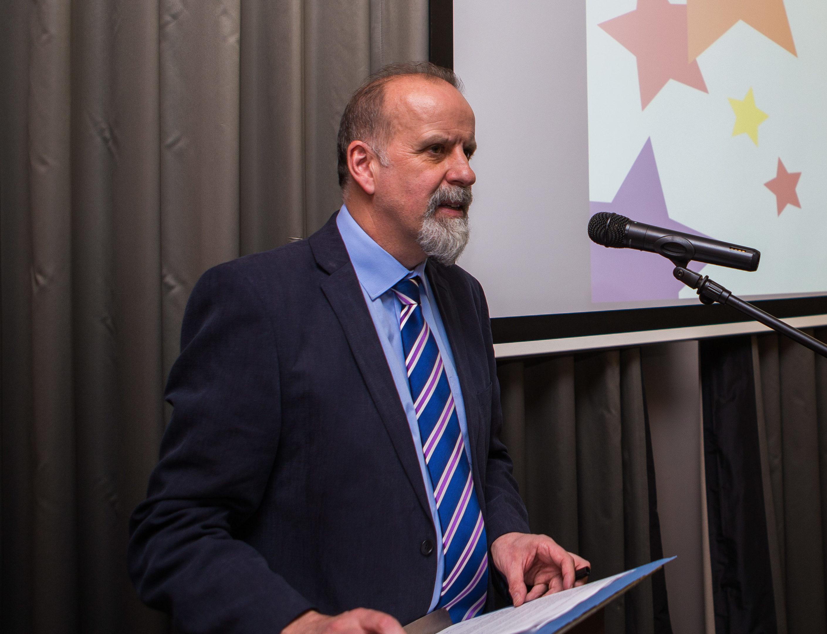 Chief Executive of Volunteer Dundee, Eric Knox