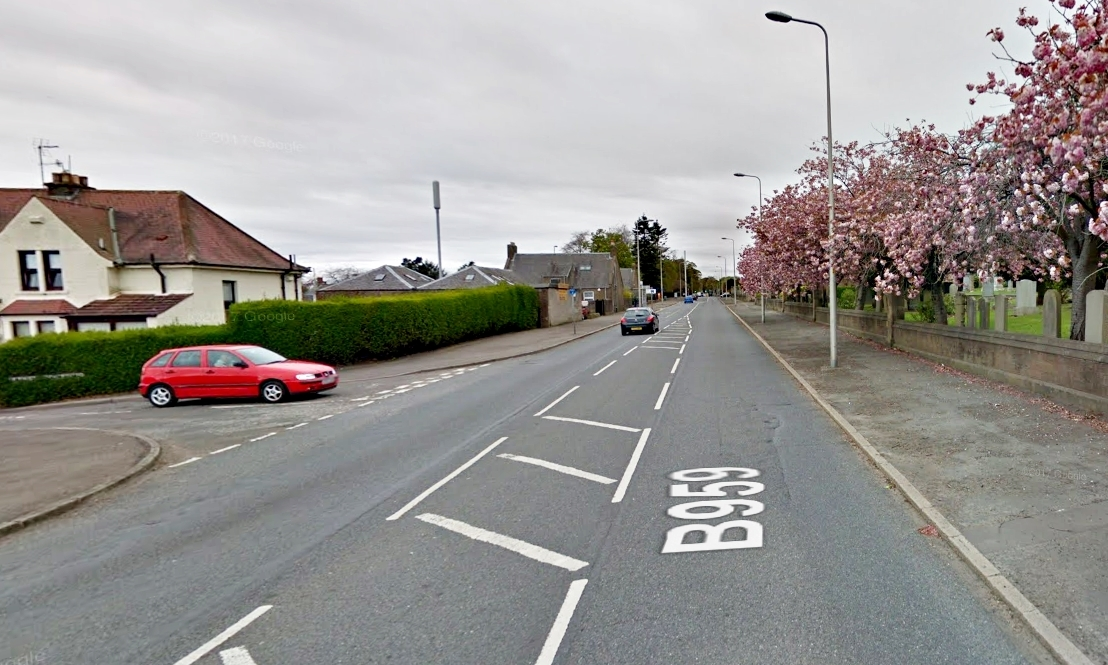 The junction of East Haddon Road and Arbroath Road. (library image)