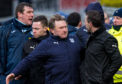 The infamous Dens Park bust-up.