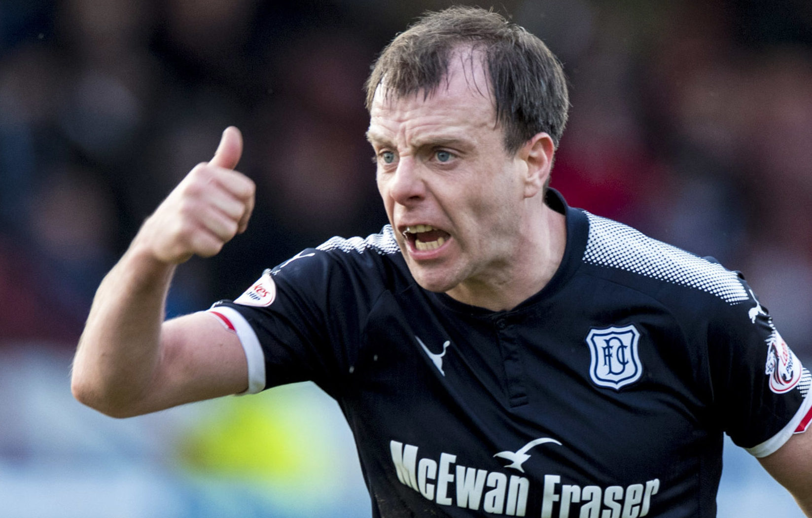 Paul McGowan remains a key player for Dark Blues