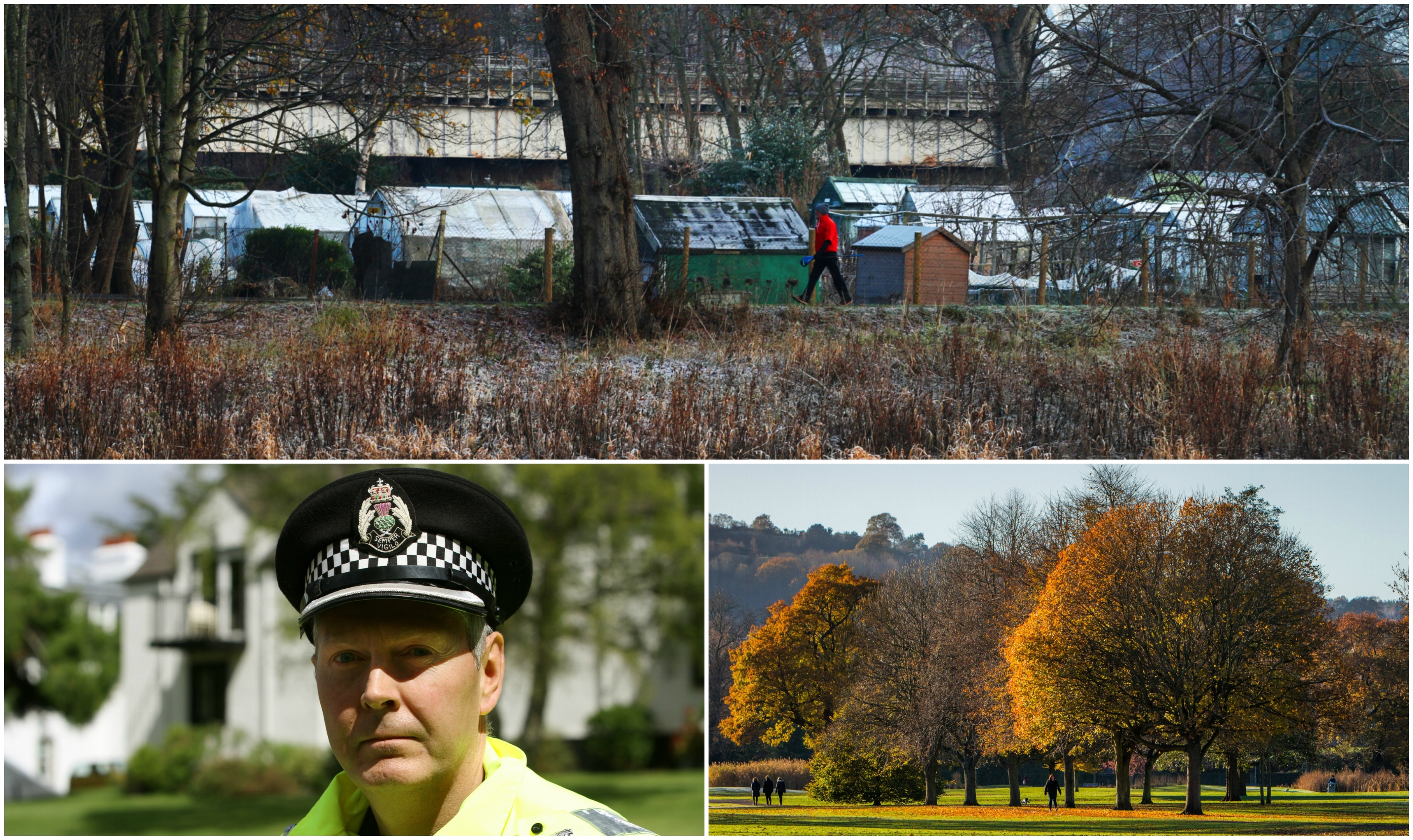 Chief Inspector Ian Scott, Moncreiffe Island and South Inch park.