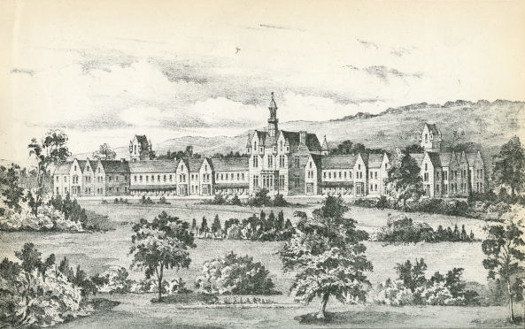 Dundee Royal Lunatic Asylum, which opened in April 1820
