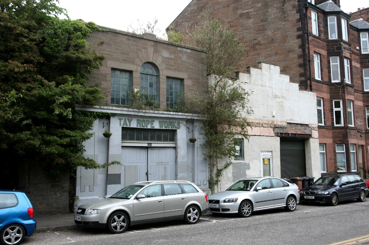 The former Tay Rope Works building.