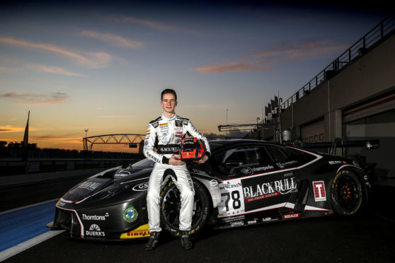 Sandy Mitchell contested the Blancpain Endurance Series in 2018
