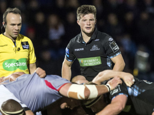 All attention is on Glasgow's exciting young scrum-half George Horne at Murrayfield tonight.