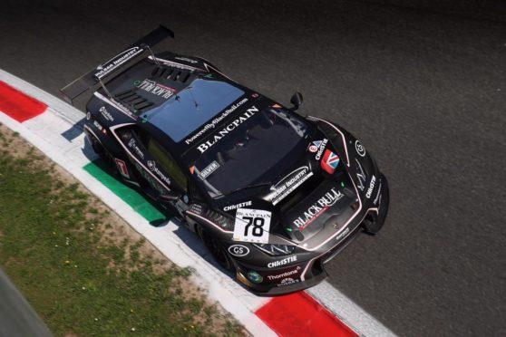 The Black Bull Lamborghini Huracan GT3