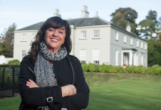 Donna Pirie put her home of eight years up as the unusual raffle prize.