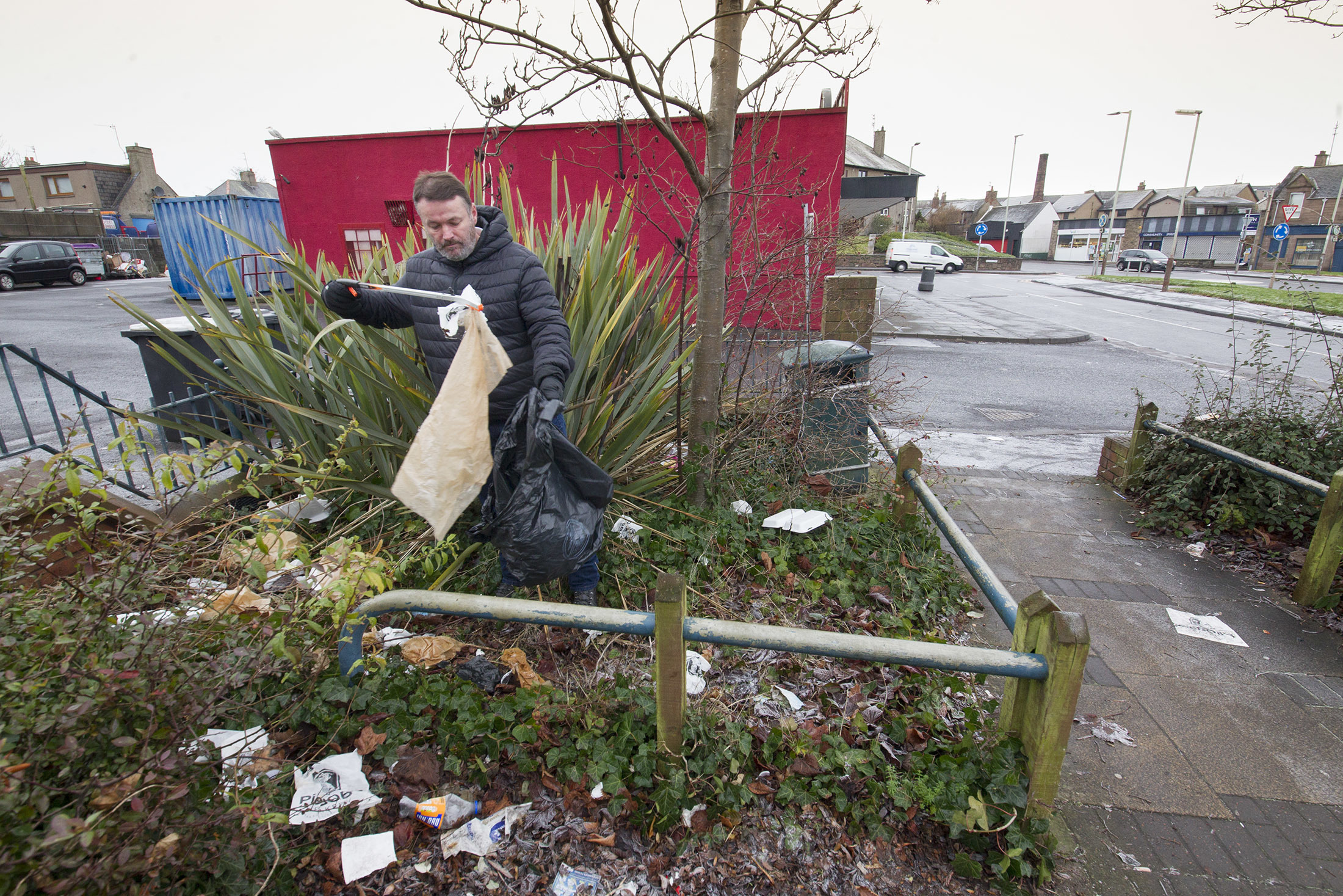 Mr Coutts is a well-known litter crusader in Angus.