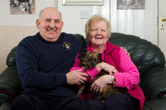 Frank and Ena Conyon of Second Chance Kennels, Thornton.