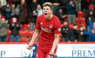 Aberdeen's Ryan Christie celebrates his opening goal.