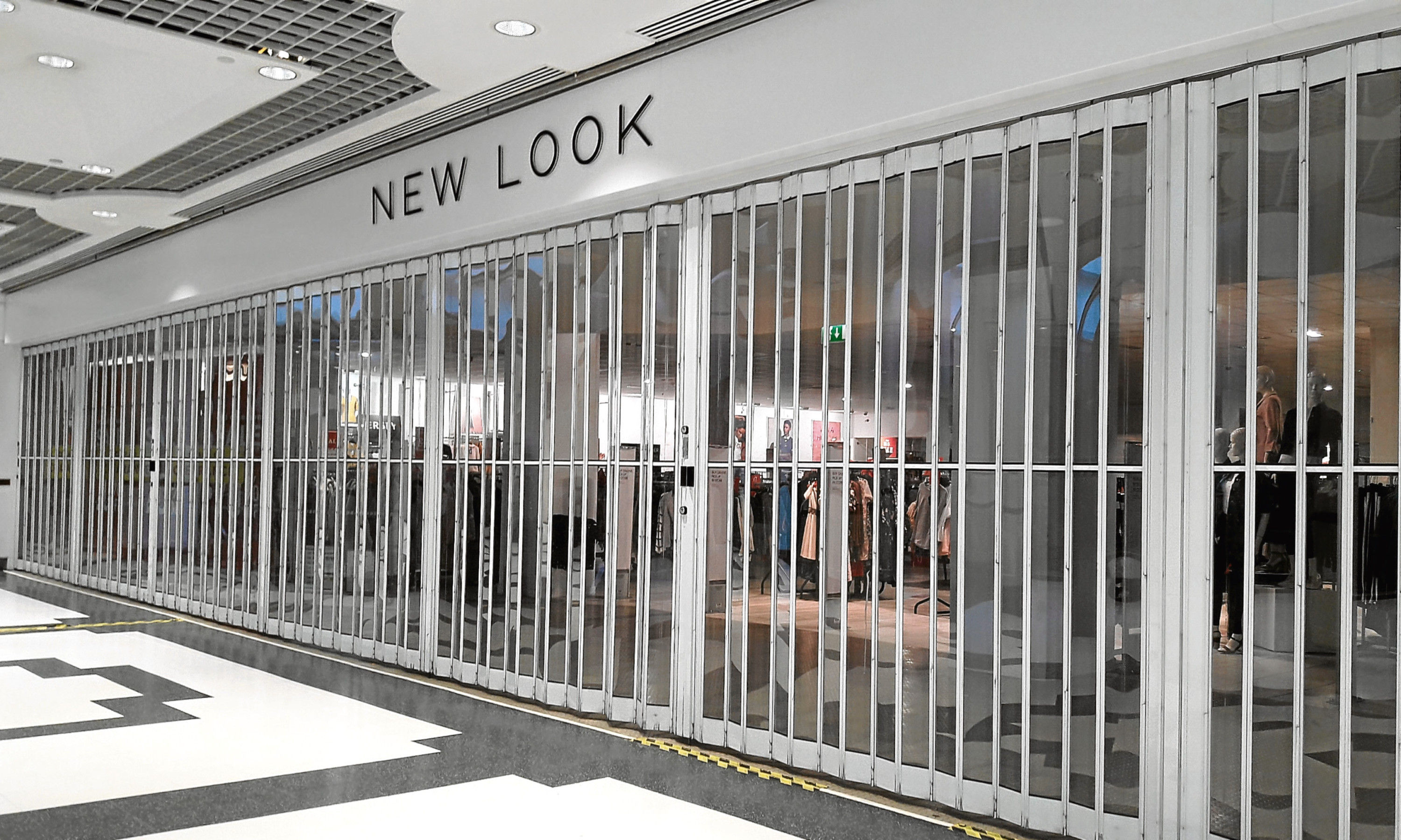 New Look announced last month that its store in Dundee's Wellgate shopping centre is to close.