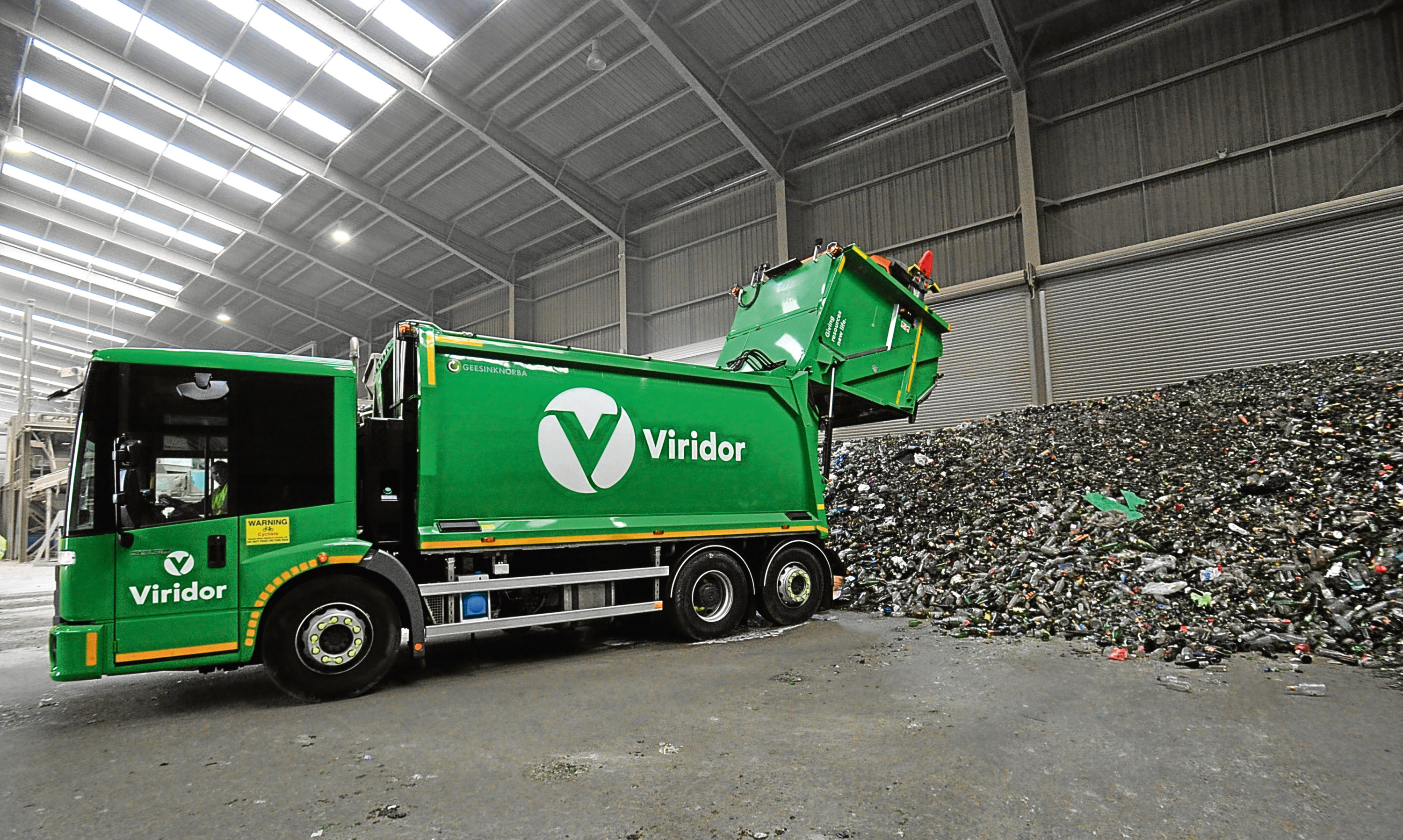 Viridor's upgraded Newhouse facility