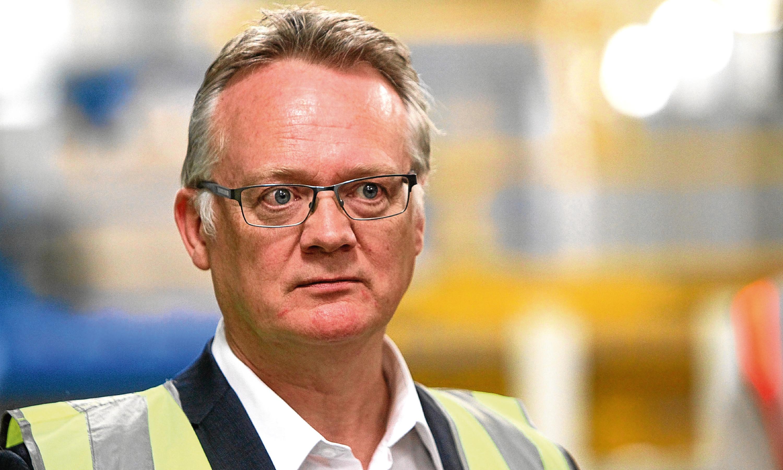 Michelin Dundee factory manager John Reid