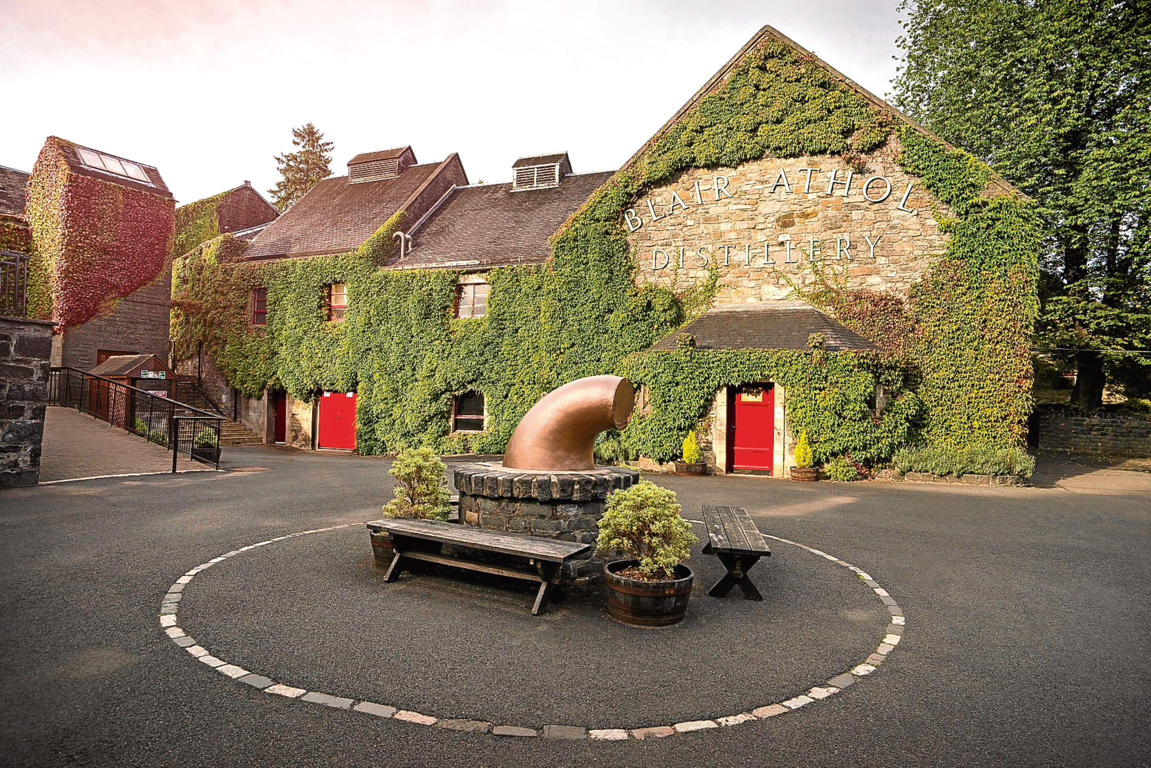 Blair Athol distillery at Pitlochry will be among those upgraded under Diageos whisky visitor experience plans.