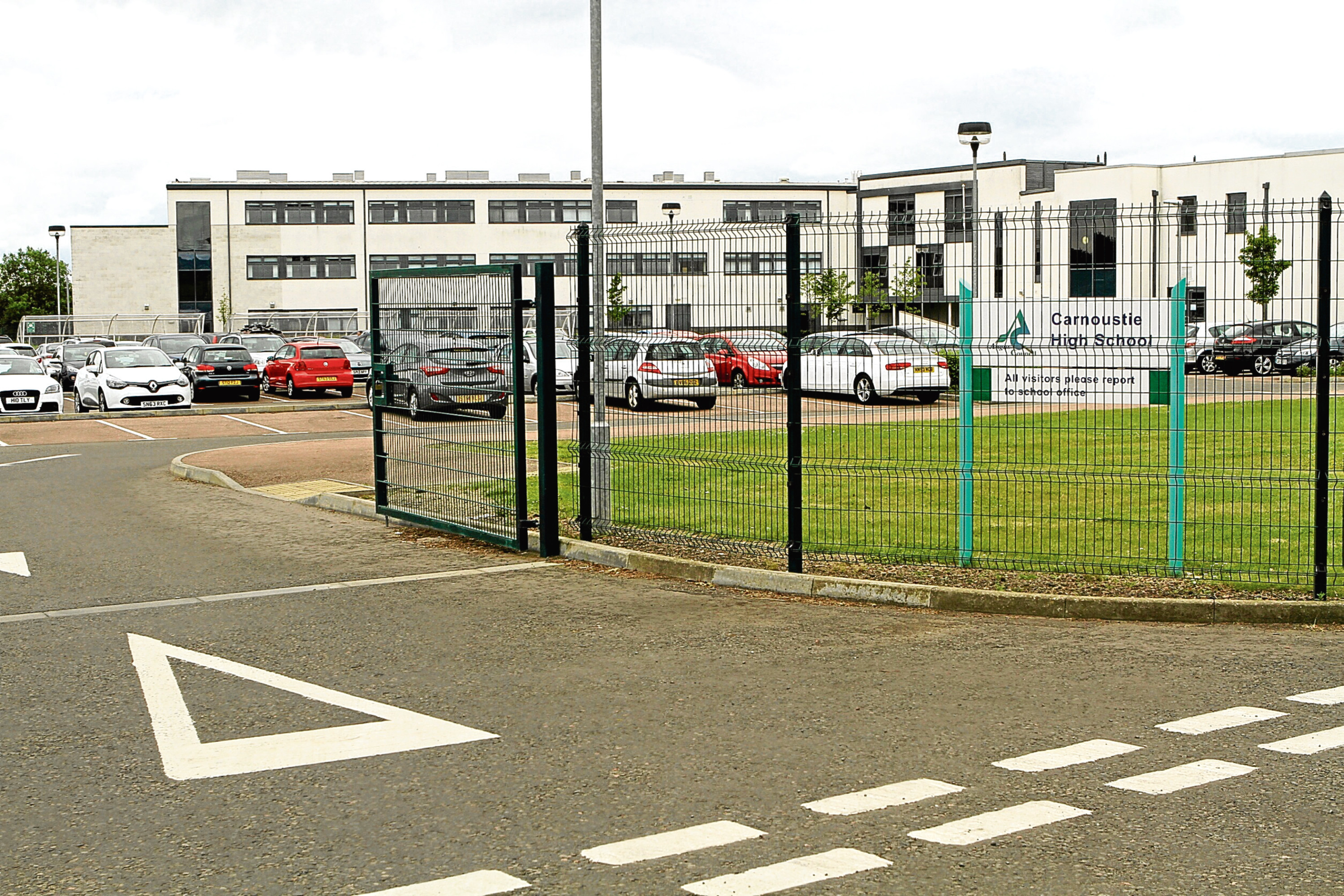 Carnoustie High School.