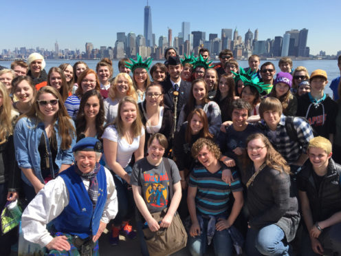 The Scots disapora celebrate Tartan Week in the States this week.