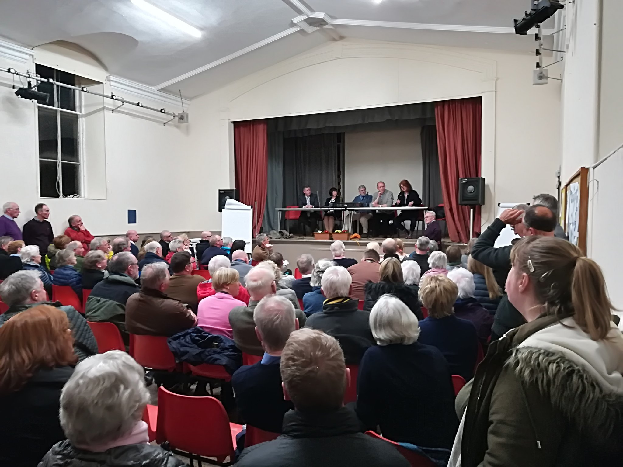 The meeting in Earlsferry was packed out.