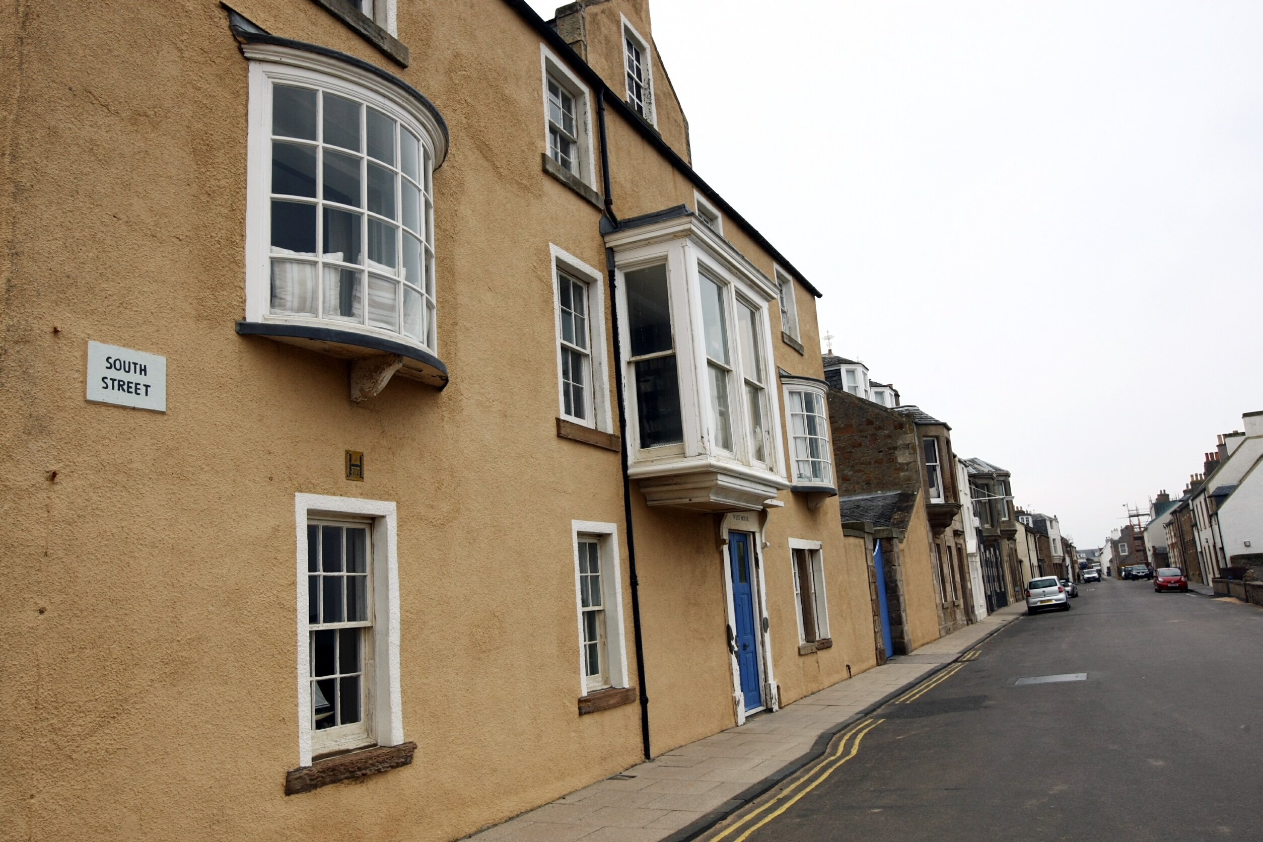 Elie has a high proportion of second homes.