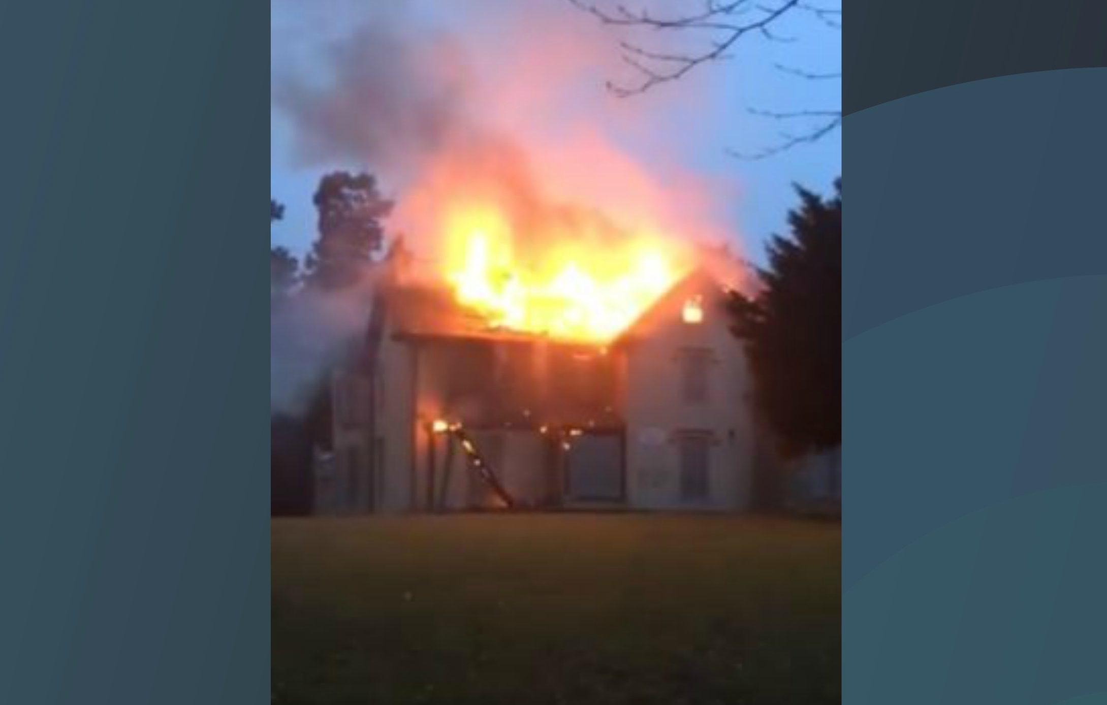 The Silverburn Park blaze, Leven